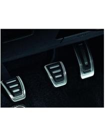 Plieninės pedalų apdailos