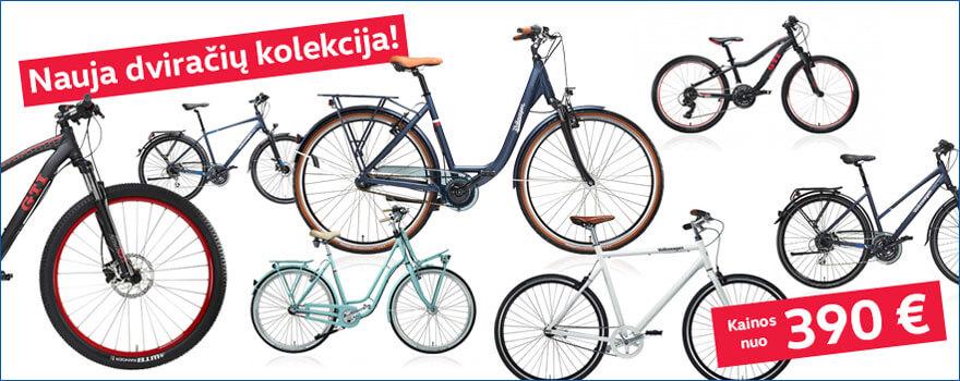 Nauja dviračių kolekcija