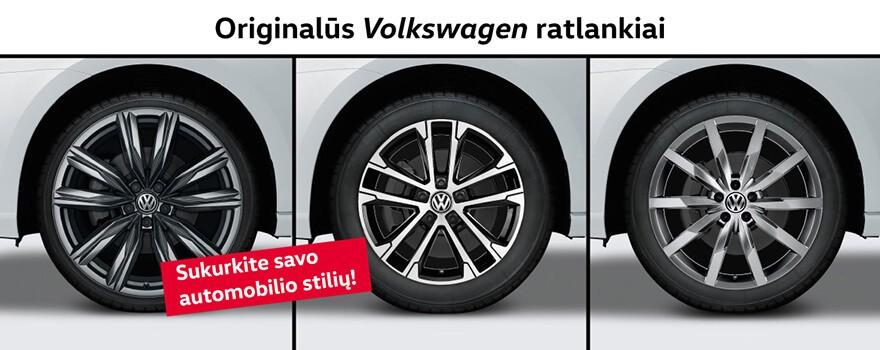 Originalūs VW ratlankiai